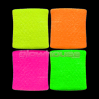 UV Neon Wrist Sweat Band