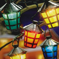 40 LED Outdoor Chasing Lanterns