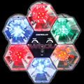 6 Way Sound Reactive Disco Lights
