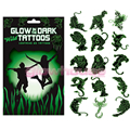 Glow In The Dark Animal Tattoos