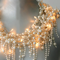 Baroque Pearl String Lights