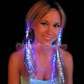 Fibre Optic Hair Clips