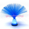 Blue Fibre Optic Lamp