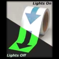 Glow Arrow Tape