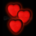 Glow Heart Badges