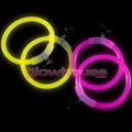 Glow Hoop Earrings Clip On