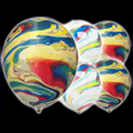 Illoom Balloons Marble 5 Pack