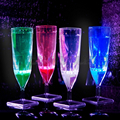 Liquid Activated Champagne Flute Set of 4