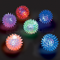 Flashing Spikey Massage Ball