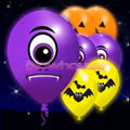 Spooky Illoom Balloons 5 pack