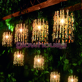 Decorative Twig Lantern Lights